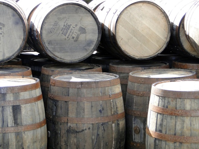 Whisky Whiskey Barrels Wooden Barrels Islay